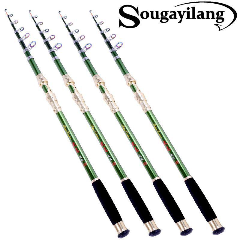 High Quality 2.1m Telescopic Fishing Rod 99% Carbon Fiber Fishing Rod Surf Casting Rock Carp Fishing Tackle gear(China (Mainland))