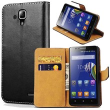 Buy Case Lenovo A536 Black Luxury Durable Wallet Genuine Leather Phone Bag Cases Lenovo 536 Fashion Flip Style Cover for $2.99 in AliExpress store