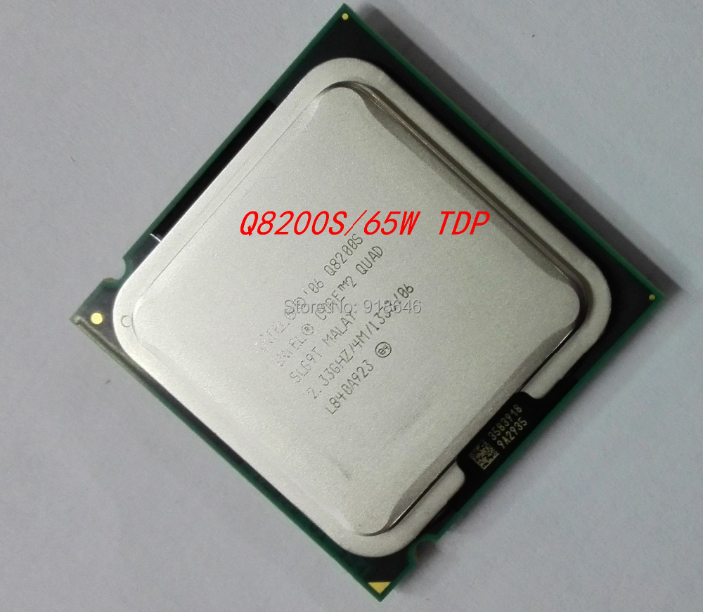 Free Shipping Original Core 2 Quad Q8200S CPU/Socket 775/2.33GHz/FSB 1333MHz/45nm/65W/Quad-Core Processor/Warranty 1 year(China (Mainland))