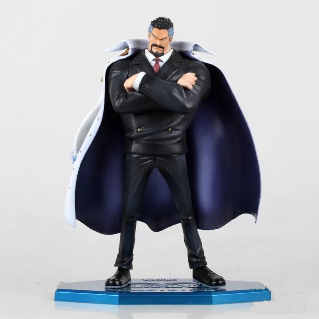Free shipping Action Figure Toy One Piece Youth Black Monkey D Garp Vice Admiral figure Garage Kits Dolls Brinquedos Anime(China (Mainland))
