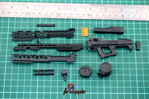 1/6 Weapon Model Avatar Machine Gun 4D MG62 Assembling Plastic Rifle Toy for Action Figures Accessoreis(China (Mainland))