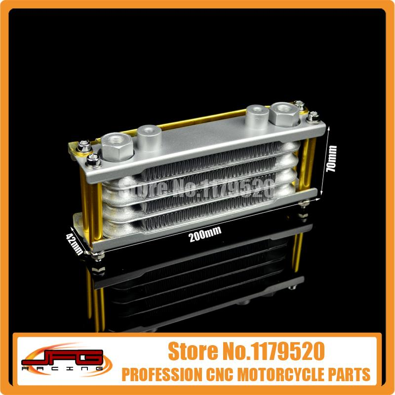 Oil Cooling Cooler Radiator for 125 140 Horizontal Engine Chinese Made Dirt Pit Monkey Bike ATV