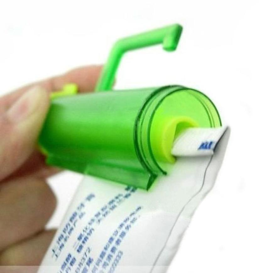 Гаджет  Blue Pink Practical Rolling Squeezer 2015 New Arrival Cute Toothpaste Squeezer Energy-saving Dispenser Sucker Hanging Holder None Мебель