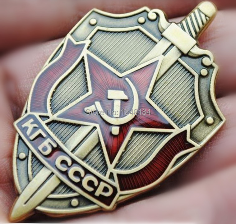 10pcs/lot, Russian the Soviet State Security Committee Badge Emblem Medal of army gift(China (Mainland))