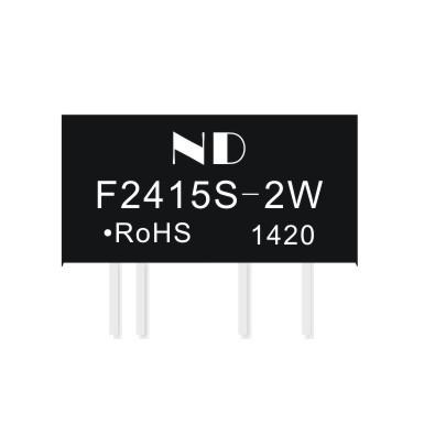 5pcs dc dc power supply converter 24V to 15V 2w isolation 3000V dc-dc power module(China (Mainland))