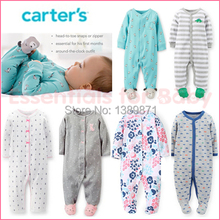 2015 new Original Carters Baby Girls Boys Pajamas 100 cotton brand jumpsuits meninas clothes babies newborn