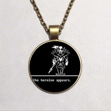Undertale Sans 2 Game Gaming Men Handmade Fashion Necklace mens brass silver Pendant steampunk Jewelry Gift women new chain toy