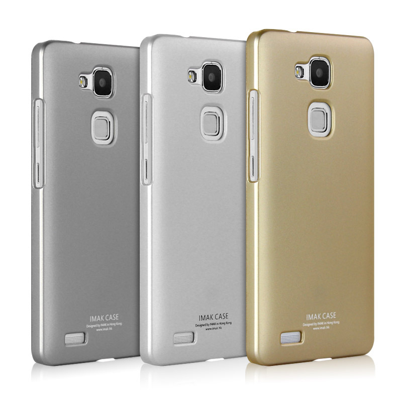 For Huawei Ascend Mate 7 New Original Brand Imak jazz series Gold Hard Back mobile Phone Protective Case Cover For Huawei Mate 7(China (Mainland))