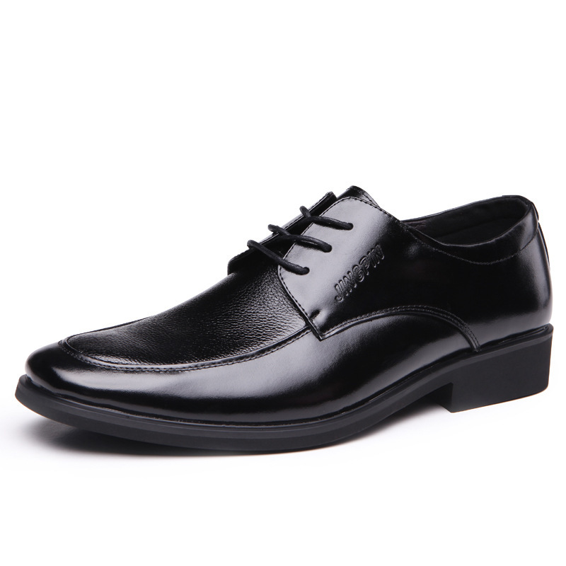 Free shipping 2014 Men's Genuine Leather Shoes / Business ...