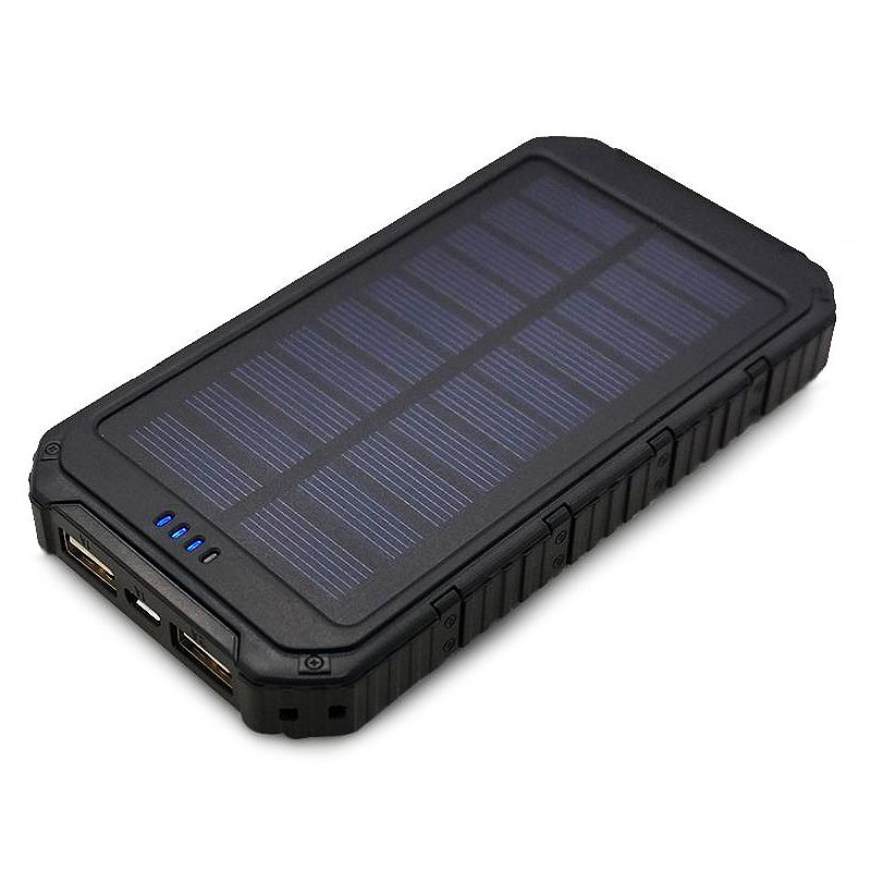 2016 Portable solar Charger 8000mAh Power Bank External solar battery charger for cell phone for sumung for iphone battery pack(China (Mainland))