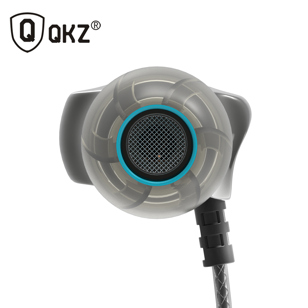 100% Original QKZ X10 In-Ear Stereo Earphone Music Headsets For Xiaomi Samsung IPhone SE 5s 6 6s MP3(China (Mainland))