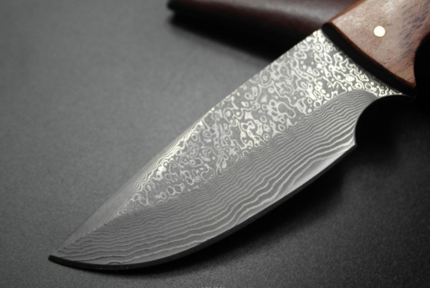 Buy 2016 Cutting tools, outdoor Small antlers straight knife Damascus knife The wild saber Collect knife cheap