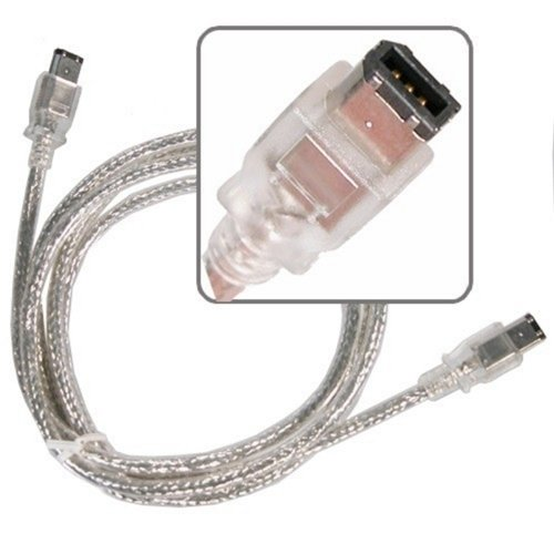 1.8M/6 foot 6 pin Male to 6 pin Male Firewire Cable for IEEE 1394 Devices(China (Mainland))