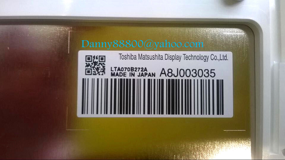 Tosheba Matsushita LTA070B272A LTA070B270A LTA070B273A LTA070B278A 8inch LCD display screen monitor for mercedes Toyota G.M car(China (Mainland))