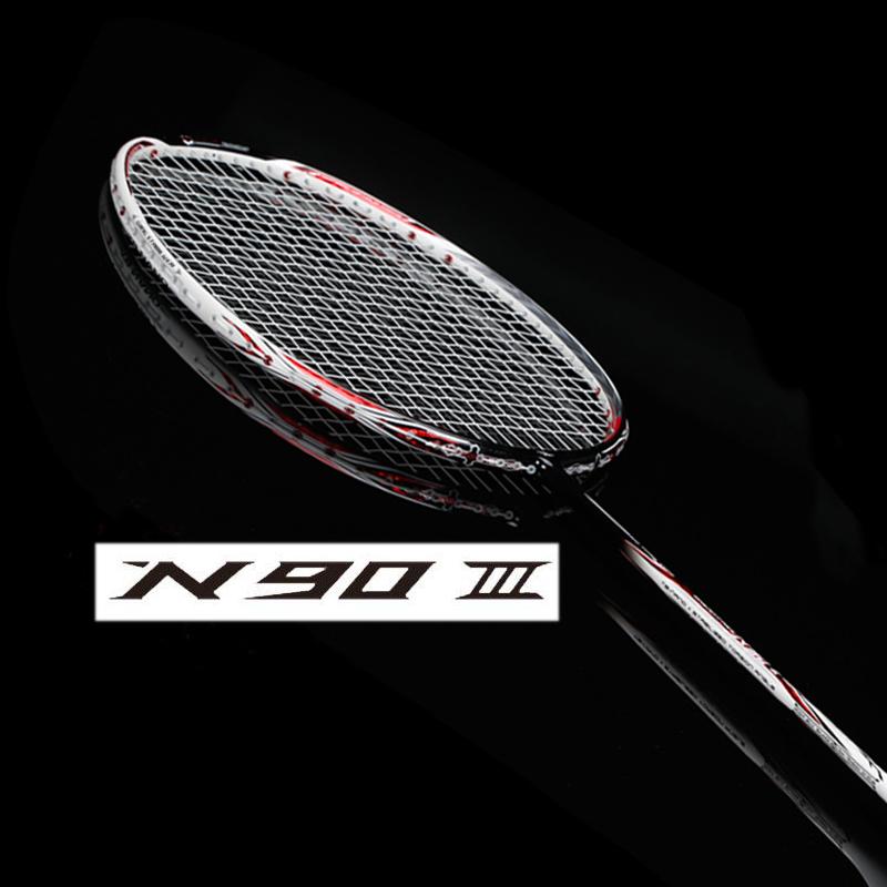 li ning lining badminton racket carbon fb li-ning badminton rackets raquete n90 iii n90iv(China (Mainland))
