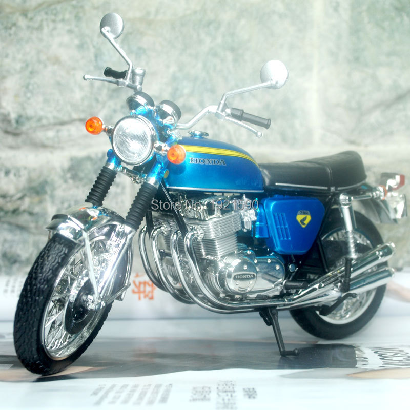 JOYCITY 1/12 Scale Vintage Motorcycle Japan 1969 Honda DREAM CB750FOUR Diecast Metal Motorbike Model Toy For Gift/Collection(China (Mainland))