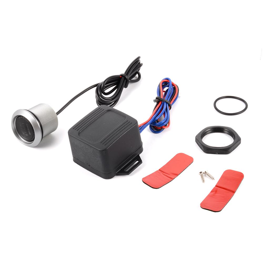PIVOT Red LED 12V Car Engine Start Push Button Switch Ignition Starter Kit MA428(China (Mainland))