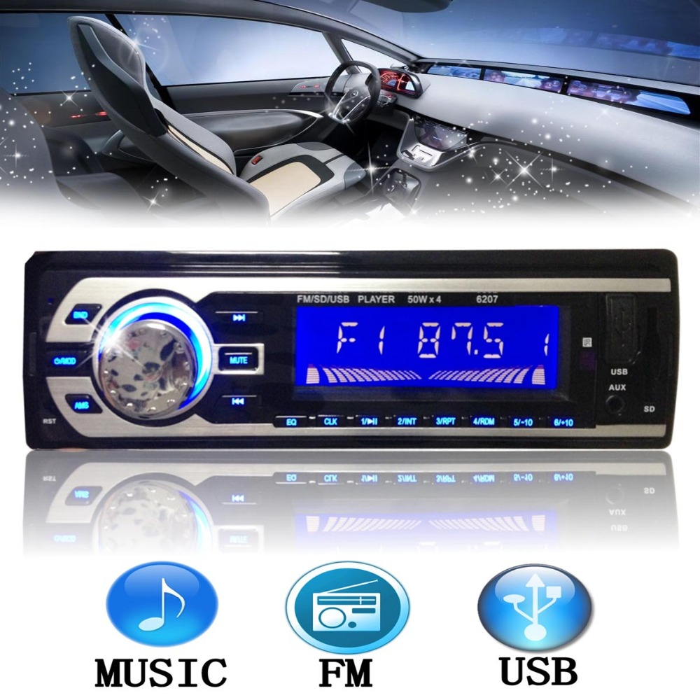 2015 New Car Audio Stereo In Dash Music MP3 Player Radio FM/USB/SD/AUX/MMC input Receiver(China (Mainland))