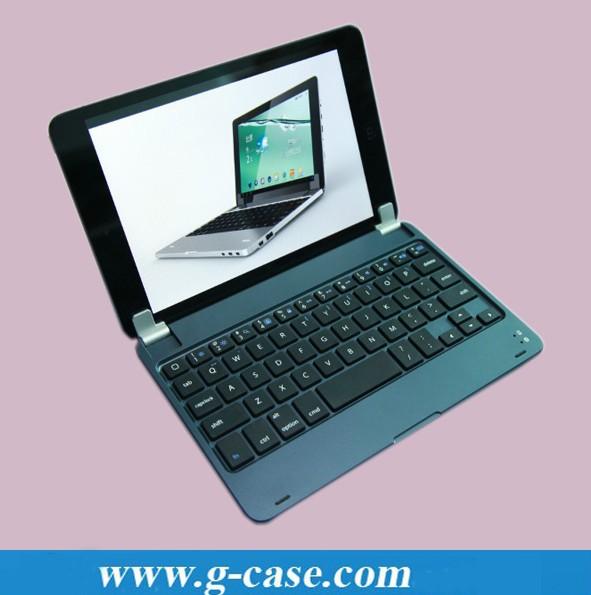 4pcs/lot G9A bluetooth keyboard for ipad mini, ultra slim aluminum wireless bluetooth keyboard for mini ipad(China (Mainland))