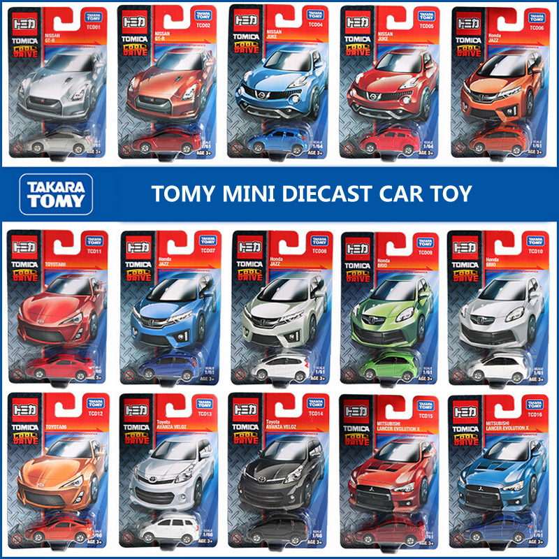 6-7cm mini scale brand tomica baby kids diecast motor plastic models race cars toys loose durable play cheap gifts for children(China (Mainland))
