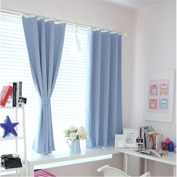 Bedroom short curtains