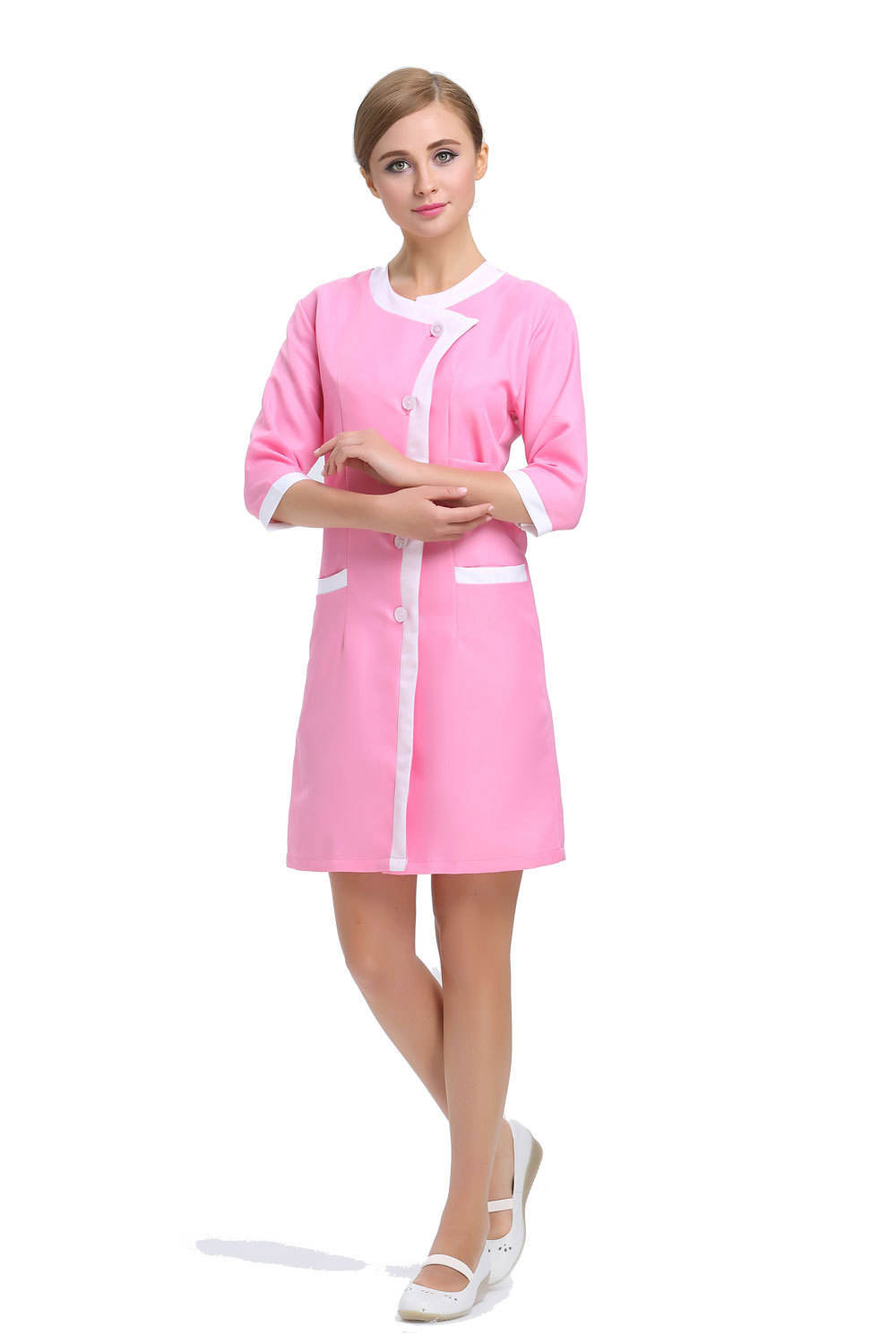 Hospital pink promotion shop for promotional hospital pink for Spa uniform indonesia