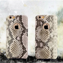 Vintage Python Snake Style PU Leather+Plastic Case for iPhone 6 6S 4.7″ Luxury Phone Cover Protective Shell Personality
