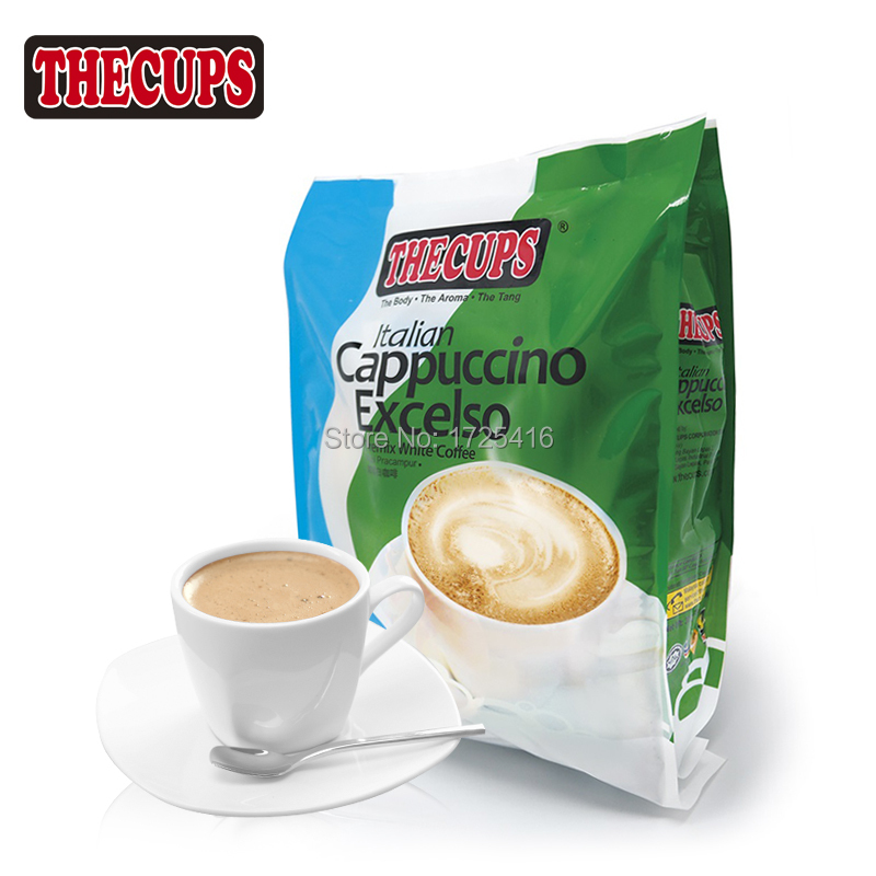 DE karp imported from Malaysia white coffee Cappuccino is a triad 300 g free shipping