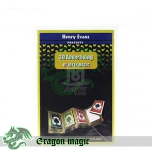 3D Advertising -Eragon Close Up Vanishing magia magie toys retail and wholesale(China (Mainland))