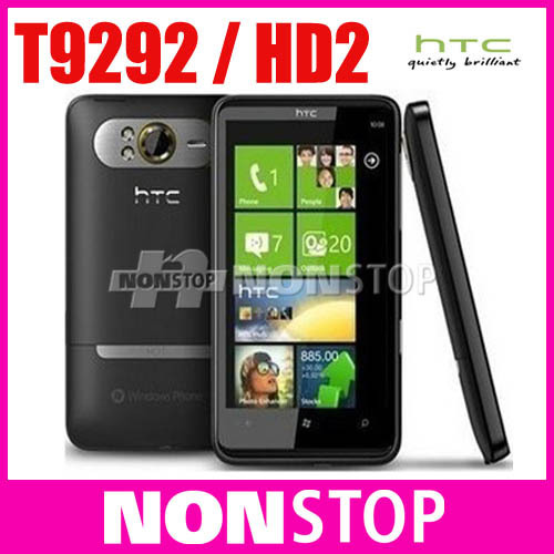 Holiday Sale T9292 Original HTC HD7 3G Windows Phone 7 T-Mobile GPS WIFI 5MP 4.3''TouchScreen Unlocked Cell Phone