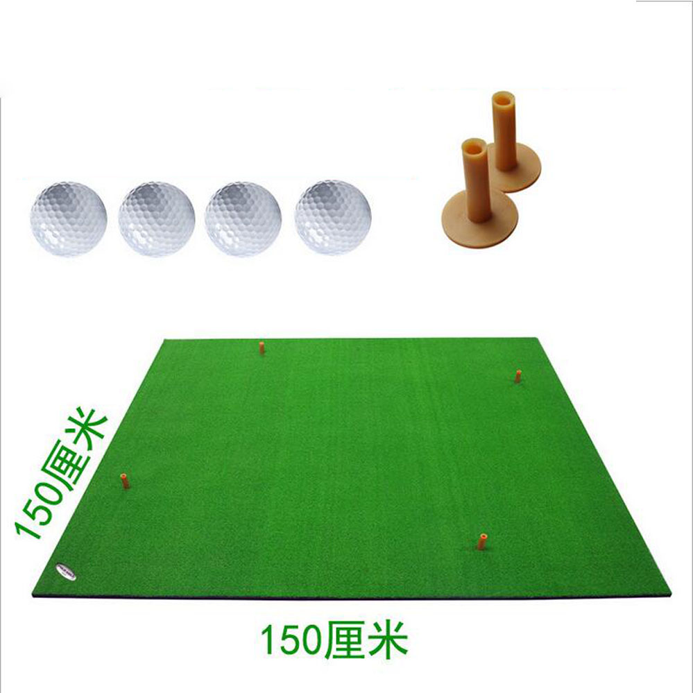 how to make a golf practice mat