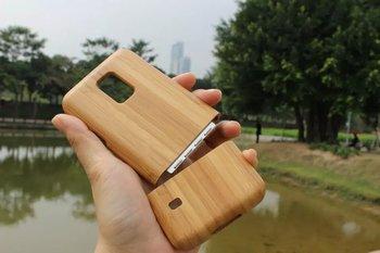 Etui plecki do Samsung Galaxy S5 mini naturalne drewno bambusowe