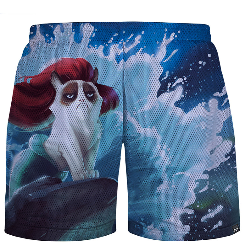 Hot 2015 New Fashion Women/Men's 3d shorts Animal Surf Printed jogging Short pants joggers sports basketball harajuku trousers(China (Mainland))