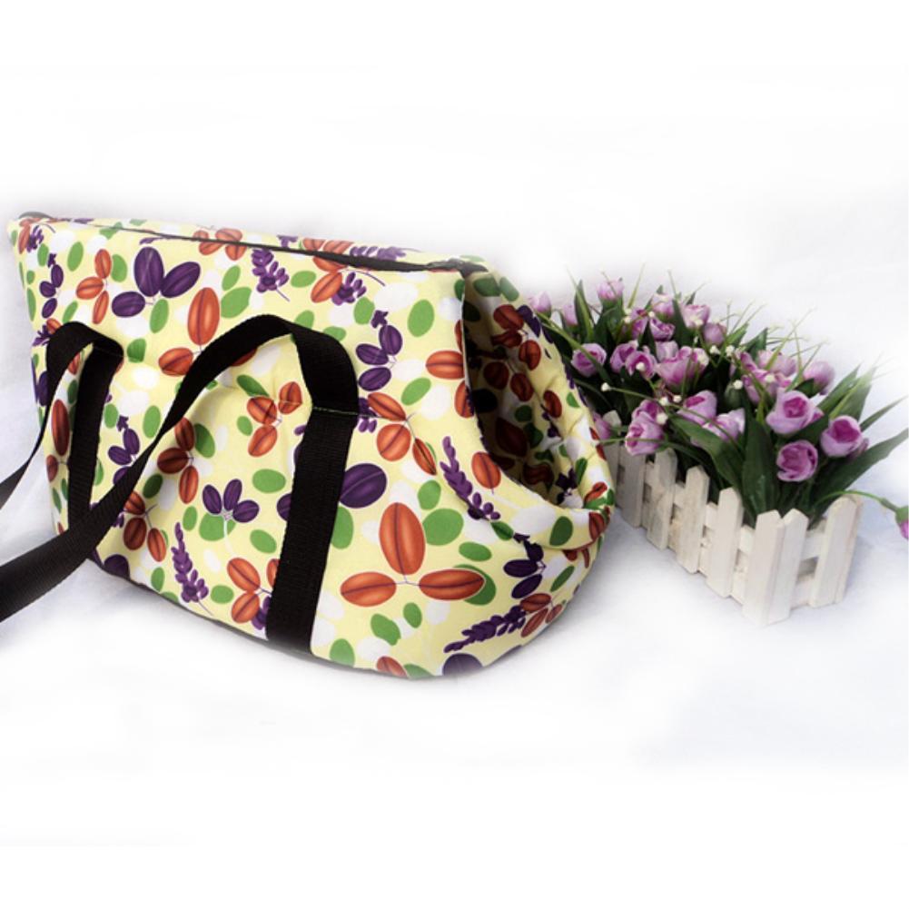 Portable Colorful Warm Soft Puppy Dog bag Cat Carry Handbag Travel S EQC123(China (Mainland))