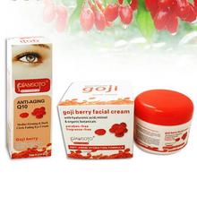 2Pieces Goji Facial Cream Eye Cream Ageless Cream Face Whitening Skin Care Anti Wrinkle Eye Cream Remove Dark Circles Under Eyes(China (Mainland))