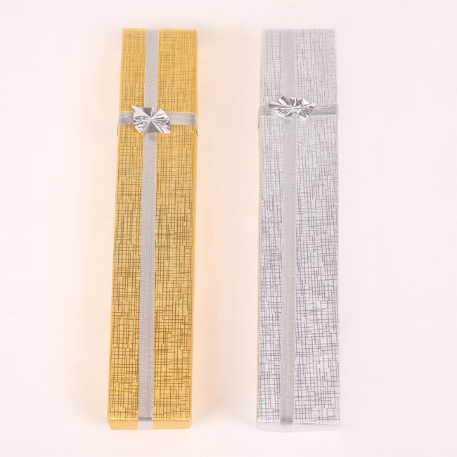 Wholesale 36 Paper Bracelet Necklace Display Box Case Stand Rack Holder Jewellery Box Mixed Color(China (Mainland))