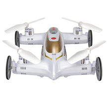Buy New SYMA X9 X9S 2.4G 4CH 6-Axis RC Quadrocopter Air-Ground Remote Control Flying Car RC Helicopter Drone VS X5SW for $34.90 in AliExpress store