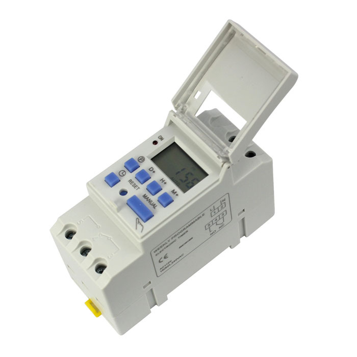 New 15A 110V/220V Digital LCD Weekly Programmable Timer Time Relay Switch(China (Mainland))