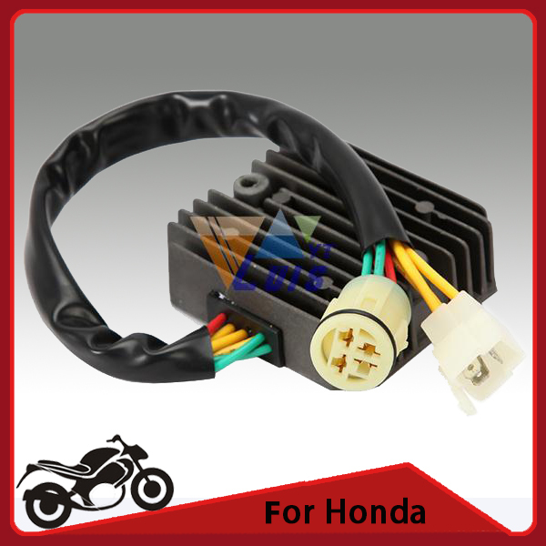 Metal Motorcycle Voltage Regulator Rectifier for Honda XRV 750 P-Y Africa Twin 1993~2003 DC12V(China (Mainland))