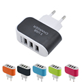 GETIHU 3 Ports USB Charger 3A Portable Mobile Phone Chargers Travel USB Wall Charger for iPhone