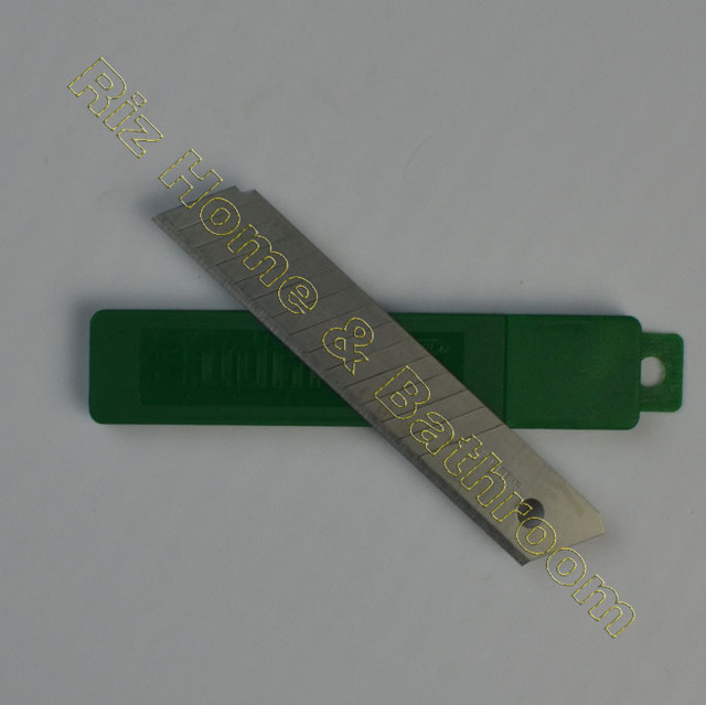 W0176A cutter blade SK5 special steels knife edge of two sides durable 4 blades