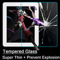Anti Fingerprint Strong Adhesive Full Cover Tempered Glass For iPad 2 3 4 Safety Screen Protector