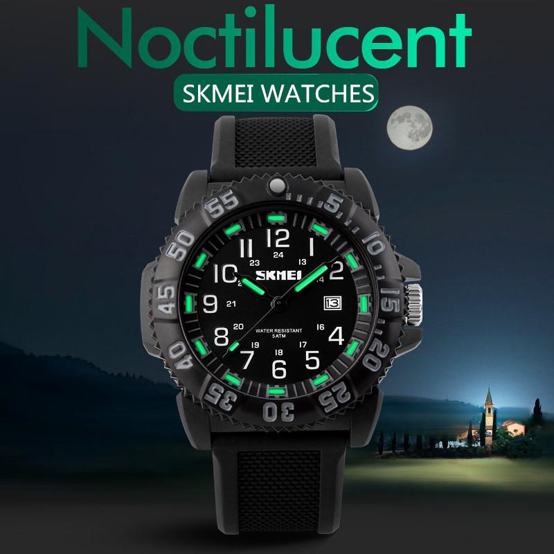 Men's Quartz Watch Men Sports Watches SKMEI Brand Relogio Masculino Reloj Noctilucent Auto Date Military Waterproof Wristwatches(China (Mainland))