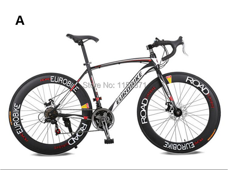 2015 XC550 Bycicle Cycling New High Fashion Mans Road Bike Black White 21 Speeds Road Bicycle