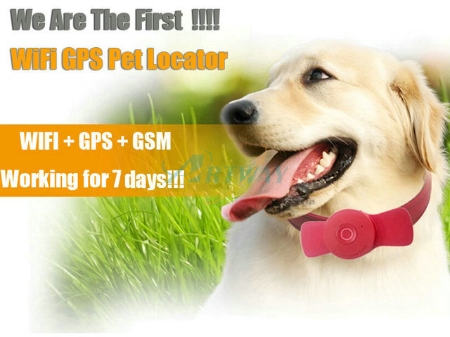 World First Latest WiFi Locator GPS GPRS WiFi Positioning Pesonal Pet Collar Tracker Waterproof IP65 Mobile APP 7days working(China (Mainland))