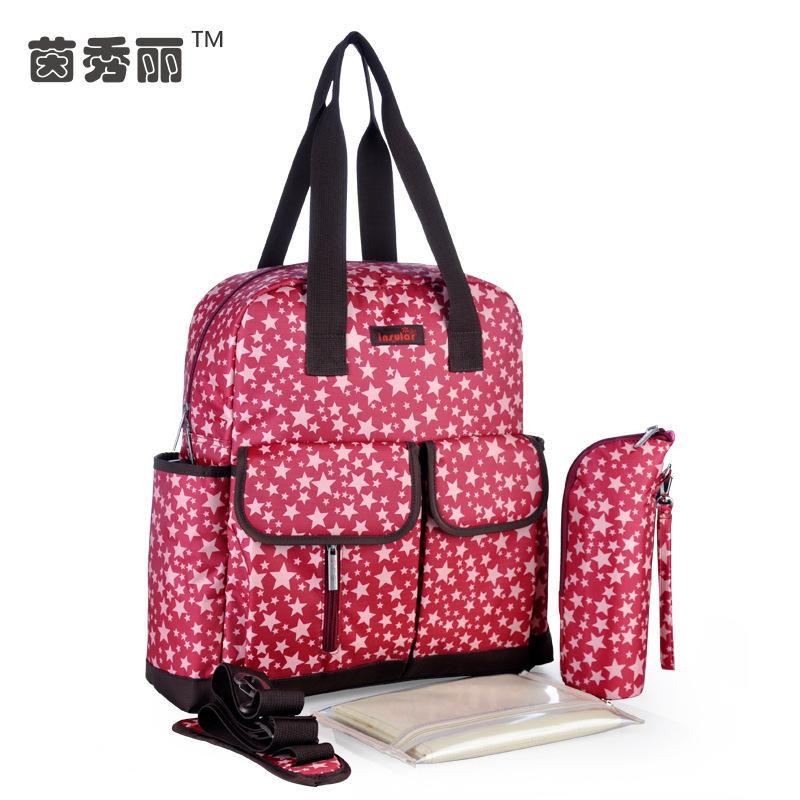 Multifunctional Nappy Bags Baby Diaper Bags Bolsa Maternidade Mummy Maternity Baby Bag Handbag Shoulder Bag Backpack(China (Mainland))