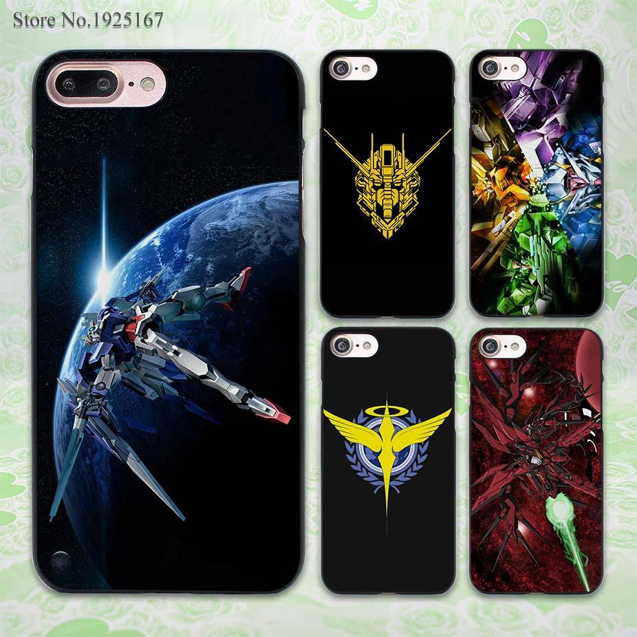 Gundam earth design hard black Case Cover for Apple iPhone 7 6 6s Plus SE 5 5s 5c 4 4s(China (Mainland))