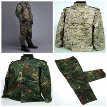 Buy Promotion US Army Navy BDU CP Multicam Camouflage Suit Military Uniform Tactical Combat Airsoft Farda Jacket & Pants for $40.46 in AliExpress store