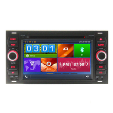 Car DVD Player GPS Navigation For Ford Focus C-MAX Fiesta Fusion Galaxy Kuga 2003 2004 2005 2006 2007 2008 Radio Bluetooth RDS