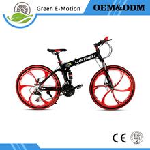 Buy 26 inches bicycles steel 21/24/27 speed Double shock absorption folding mountain bike Double disc bicycle for $199.50 in AliExpress store